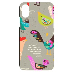 Scandinavian Birds Feather Weather Iphone X/xs Black Uv Print Case by andStretch