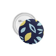 Laser Lemon Navy 1 75  Buttons by andStretch