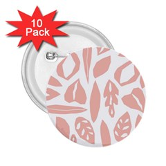Blush Orchard 2 25  Buttons (10 Pack)  by andStretch