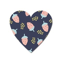 Strawberry Fields Heart Magnet by andStretch