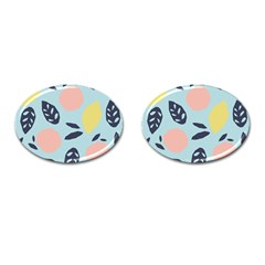Orchard Fruits Cufflinks (oval)