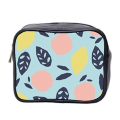 Orchard Fruits Mini Toiletries Bag (two Sides)