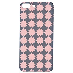 Retro Pink And Grey Pattern Iphone 7/8 Plus Soft Bumper Uv Case by MooMoosMumma