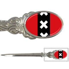 Vertical Amsterdam Flag Letter Opener by abbeyz71