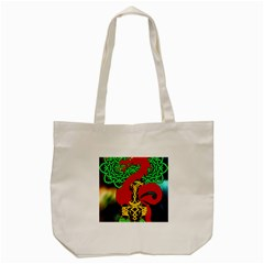 Ragnarok Dragon Monster Tote Bag (cream) by HermanTelo