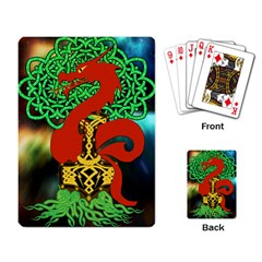 Ragnarok Dragon Monster Playing Cards Single Design (rectangle)