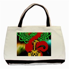 Ragnarok Dragon Monster Basic Tote Bag by HermanTelo