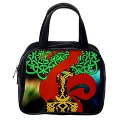 Ragnarok Dragon Monster Classic Handbag (one Side) by HermanTelo