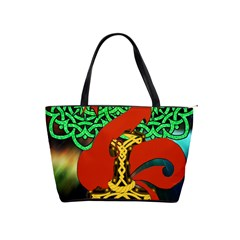 Ragnarok Dragon Monster Classic Shoulder Handbag by HermanTelo