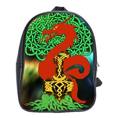 Ragnarok Dragon Monster School Bag (large) by HermanTelo