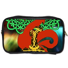 Ragnarok Dragon Monster Toiletries Bag (one Side) by HermanTelo
