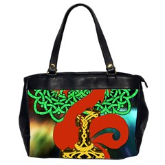 Ragnarok Dragon Monster Oversize Office Handbag (2 Sides)