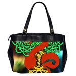 Ragnarok Dragon Monster Oversize Office Handbag (2 Sides) Back