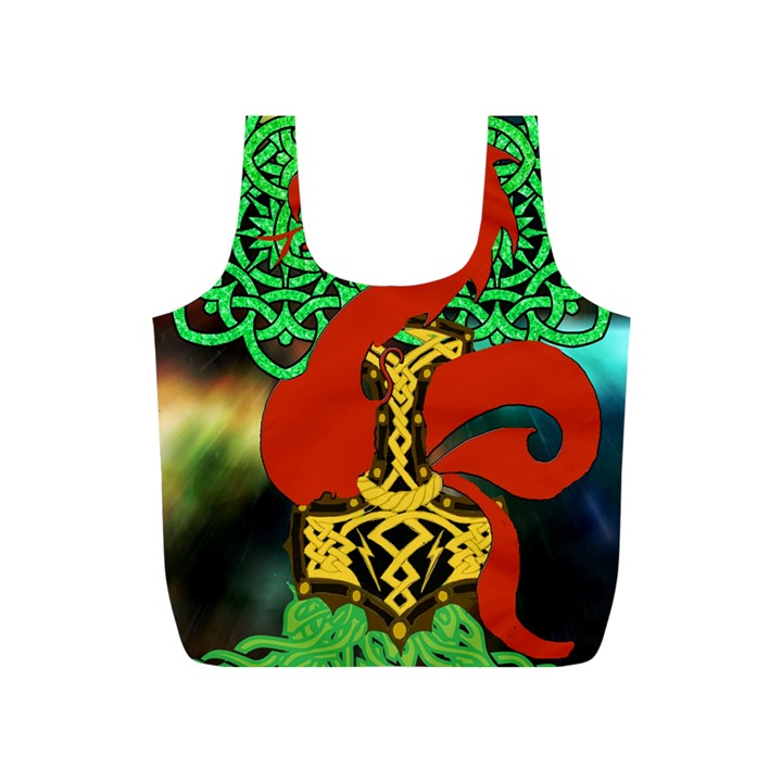 Ragnarok Dragon Monster Full Print Recycle Bag (S)