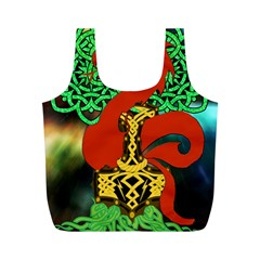 Ragnarok Dragon Monster Full Print Recycle Bag (m)