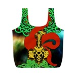 Ragnarok Dragon Monster Full Print Recycle Bag (M) Back