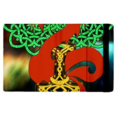 Ragnarok Dragon Monster Apple Ipad Pro 9 7   Flip Case