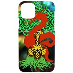 Ragnarok Dragon Monster Iphone 11 Pro Black Uv Print Case by HermanTelo