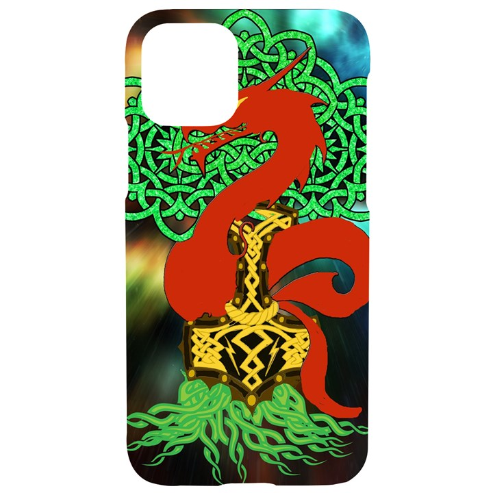 Ragnarok Dragon Monster iPhone 11 Pro Black UV Print Case