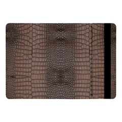 Brown Alligator Leather Skin Apple Ipad 9 7 by LoolyElzayat