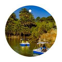Parque Rodo Park, Montevideo, Uruguay Ornament (round) by dflcprintsclothing
