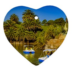 Parque Rodo Park, Montevideo, Uruguay Ornament (heart) by dflcprintsclothing