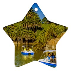 Parque Rodo Park, Montevideo, Uruguay Ornament (star) by dflcprintsclothing
