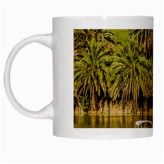 Parque Rodo Park, Montevideo, Uruguay White Mugs by dflcprintsclothing