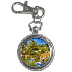 Parque Rodo Park, Montevideo, Uruguay Key Chain Watches by dflcprintsclothing