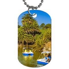 Parque Rodo Park, Montevideo, Uruguay Dog Tag (two Sides)