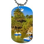 Parque Rodo Park, Montevideo, Uruguay Dog Tag (Two Sides) Back