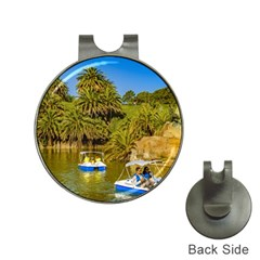 Parque Rodo Park, Montevideo, Uruguay Hat Clips With Golf Markers by dflcprintsclothing