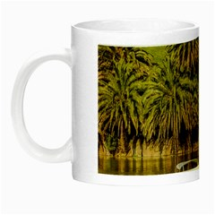 Parque Rodo Park, Montevideo, Uruguay Night Luminous Mugs by dflcprintsclothing