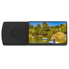 Parque Rodo Park, Montevideo, Uruguay Rectangular Usb Flash Drive by dflcprintsclothing