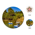 Parque Rodo Park, Montevideo, Uruguay Playing Cards Single Design (Round) Front