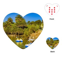 Parque Rodo Park, Montevideo, Uruguay Playing Cards Single Design (heart) by dflcprintsclothing