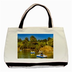 Parque Rodo Park, Montevideo, Uruguay Basic Tote Bag by dflcprintsclothing