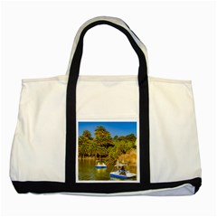 Parque Rodo Park, Montevideo, Uruguay Two Tone Tote Bag by dflcprintsclothing