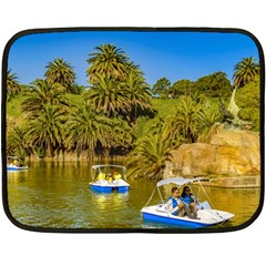 Parque Rodo Park, Montevideo, Uruguay Double Sided Fleece Blanket (mini)  by dflcprintsclothing
