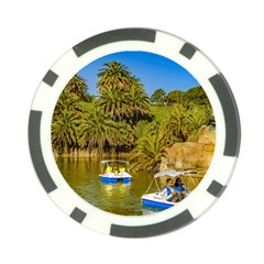 Parque Rodo Park, Montevideo, Uruguay Poker Chip Card Guard (10 Pack) by dflcprintsclothing