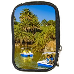 Parque Rodo Park, Montevideo, Uruguay Compact Camera Leather Case by dflcprintsclothing