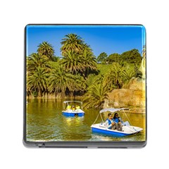 Parque Rodo Park, Montevideo, Uruguay Memory Card Reader (square 5 Slot) by dflcprintsclothing