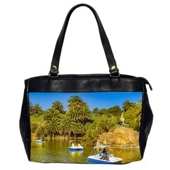 Parque Rodo Park, Montevideo, Uruguay Oversize Office Handbag (2 Sides) by dflcprintsclothing