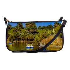 Parque Rodo Park, Montevideo, Uruguay Shoulder Clutch Bag by dflcprintsclothing