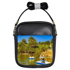 Parque Rodo Park, Montevideo, Uruguay Girls Sling Bag by dflcprintsclothing