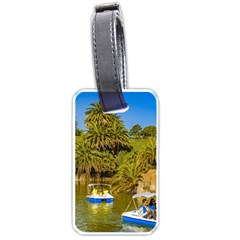 Parque Rodo Park, Montevideo, Uruguay Luggage Tag (one Side) by dflcprintsclothing