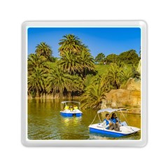 Parque Rodo Park, Montevideo, Uruguay Memory Card Reader (square) by dflcprintsclothing