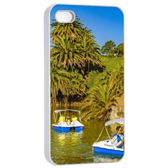 Parque Rodo Park, Montevideo, Uruguay Iphone 4/4s Seamless Case (white)