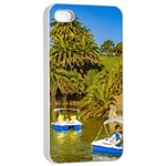 Parque Rodo Park, Montevideo, Uruguay iPhone 4/4s Seamless Case (White) Front