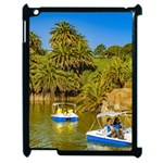 Parque Rodo Park, Montevideo, Uruguay Apple iPad 2 Case (Black) Front